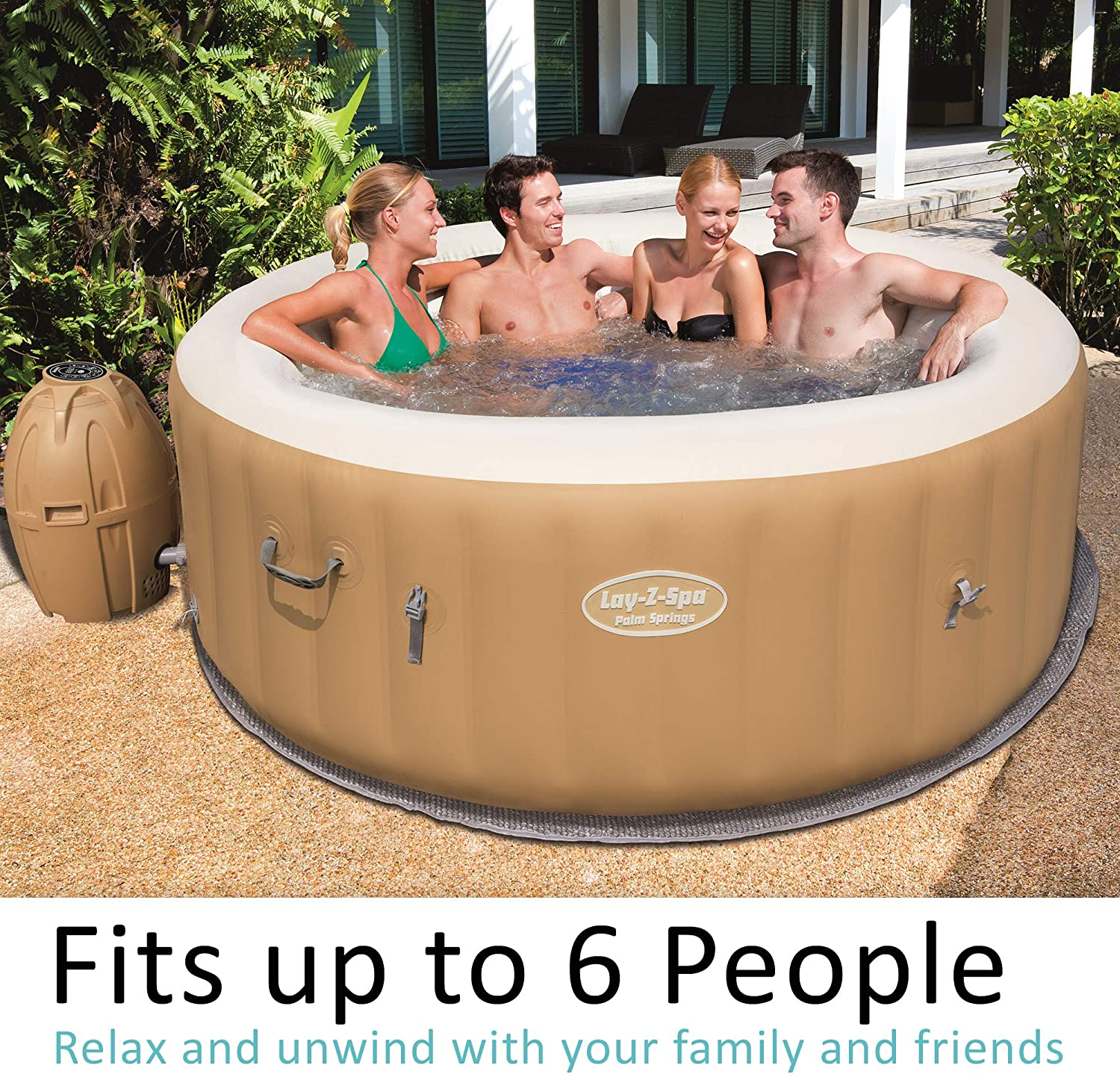 BESTWAY PALM SPRING JACUZZI INFLABLE