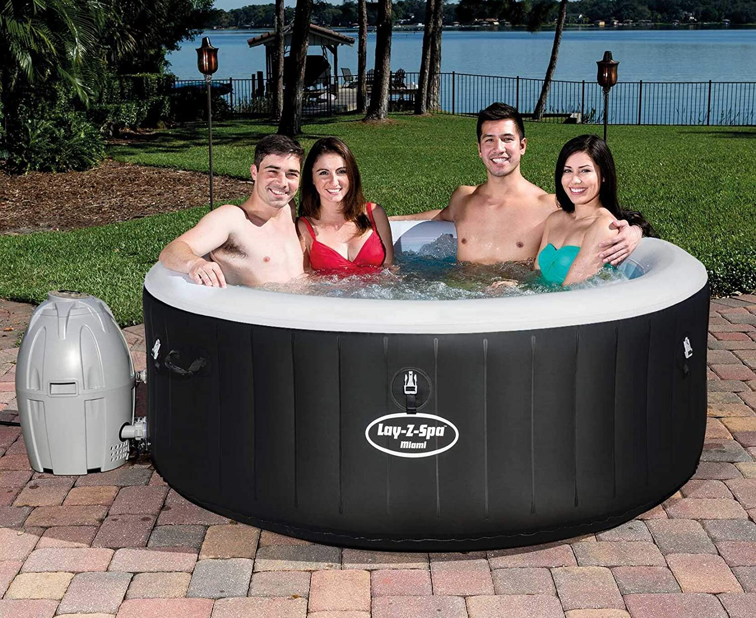 LAY Z SPA HAWAII JACUZZI INFLABLE